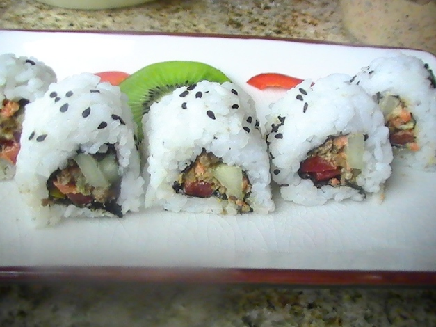 Vegetaruab Nori Roll